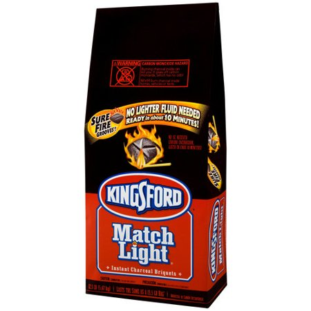 One pound bag of Match Light Charcoal Briquettes. Charcoal Grill Briquet Kingsford Match Light Instant Charcoal Briquettes lb 2pk. by Kingsford. $ $ 30 FREE Shipping on eligible orders. More Buying Choices. $ (10 new offers) out of 5 stars 2. Product Features.