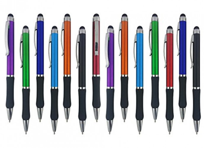 5 Pack Samsung Galaxy /& More Sensitive Stylus Tip For Your iPad Assorted Colors Nook Stylus Pens Kindle iPhone 2 in 1 Touch Screen /& Writing Pen