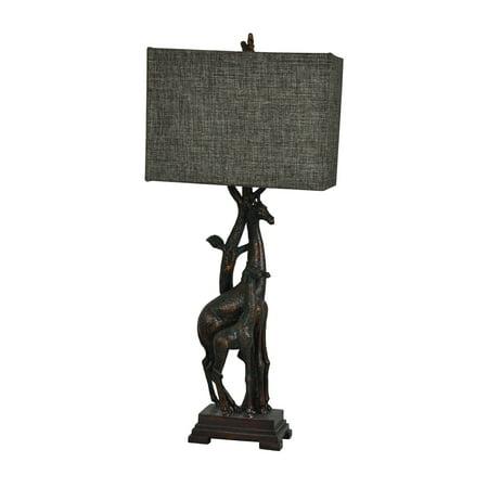 (Giraffe 32.5-Inch Table Lamp, Bronze)
