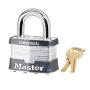 Master Lock 5KA-A478 2 in. Laminated Steel Padlock With 1 in. Shackle