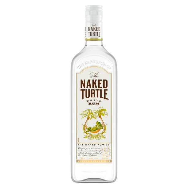 The Naked Turtle White Rum, 50 mL (80 Proof) - Walmart.com