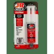 J-B Weld 50112 ClearWeld Epoxy Adhesive, Clear
