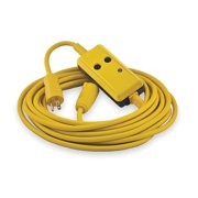 HUBBELL WIRING DEVICE-KELLEMS Line Cord GFCI GFP25C15M