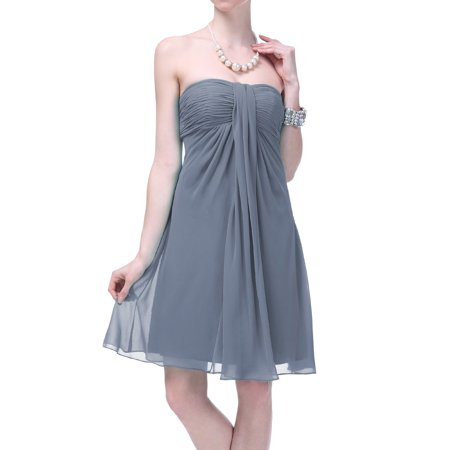(Faship Womens Pleated Formal Dress)