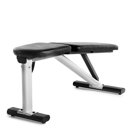 Weider XR 6.0 Adjustable Utility Bench with 4 Positions and Exercise Chart