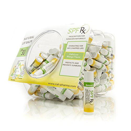 SPF Rx UVA/UVB Mango Flavoured Lip Balm, SPF 30 (100-Pack)