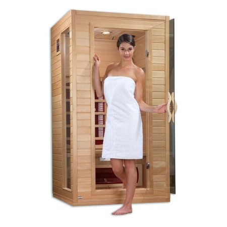 Dynamic Saunas Alicante 1-2 Person FAR Infrared Sauna (Salsa Outfits)