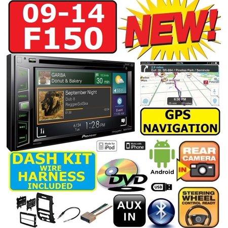 09-14 F150 PIONEER CD/DVD GPS NAVIGATION BLUETOOTH USB APP ... on