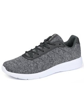 5016735093 Product Image PYPE Women Lace Up Lightweight Athletic Running Shoes Gray US  5