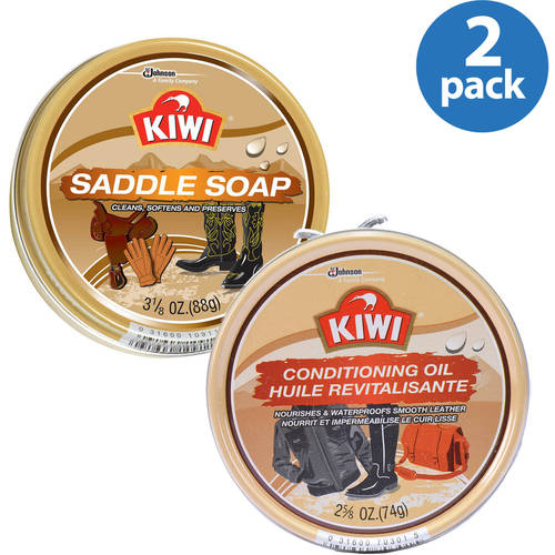 Kiwi Leather Saddle Soap and Conditioning Oil