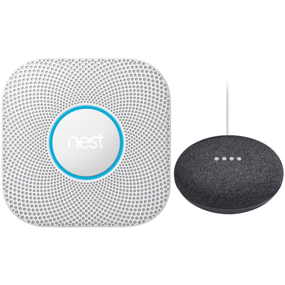 Nest Protect 2nd Generation Smoke/Carbon Monoxide Alarm Battery+Speaker Charcoal