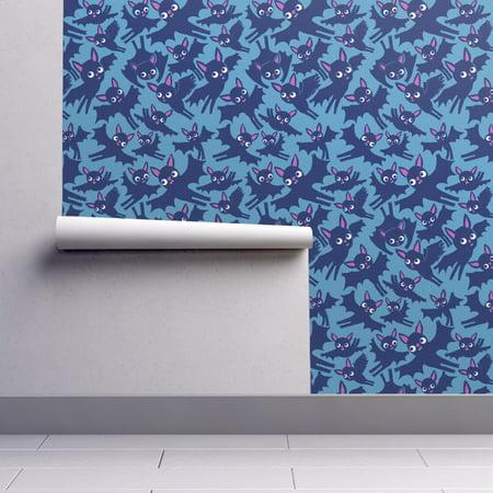 Wallpaper Roll Bats Halloween Bat Animal Flight Retro Animals 24in x 27ft
