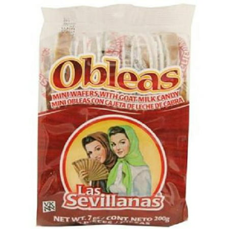 Mini Obleas with Cajeta (20 Delicious Wafers with Goat