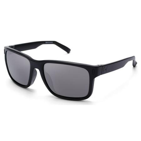 Under Armour UA Assist Sunglasses 2017 Satin Black/Black (Under Armour Sunglasses For Kids)