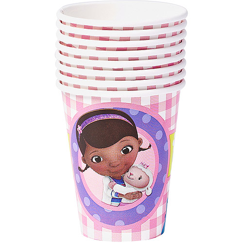 Doc McStuffins Paper Party Cups, 9 oz, 8ct