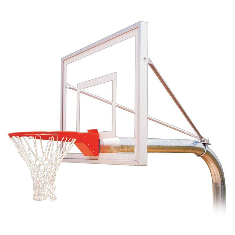 First Team RuffNeck III Fixed Height Inground Basketball System