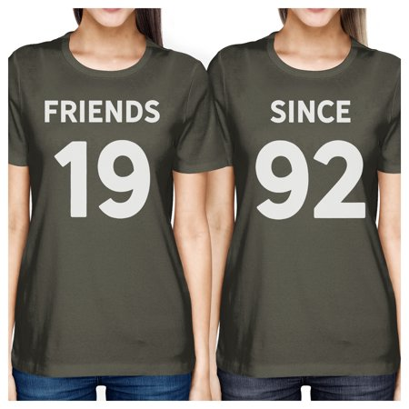 15a4e22c3 365 Printing - Friends Since Women BFF Matching Custom Graphic Shirts  Unique Gifts - Walmart.com