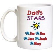 Personalized All My Starts Coffee Mug, 15oz