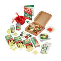 Deals on Melissa & Doug Deluxe Pizza & Pasta Play Set