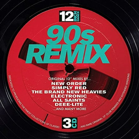 12 Inch Dance: 90s Remix / Various (CD) - Halloween Remix Dance Music