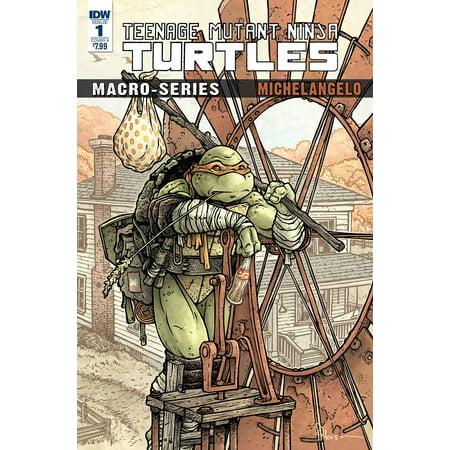 IDW  Teenage Mutant Ninja Turtles Micro-Series #1 Michelangelo - Is Yoshi A Turtle