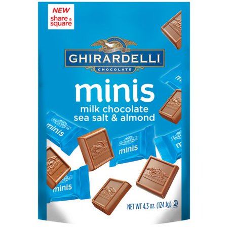 Ghirardelli Milk Chocolate Sea Salt Almond