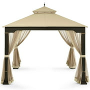Garden Winds Replacement Canopy Top for Cindy Crawford Gazebo - Riplock 350