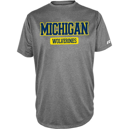 Russell Ncaa  Michigan Wolverines  Mens Impact T Shirt