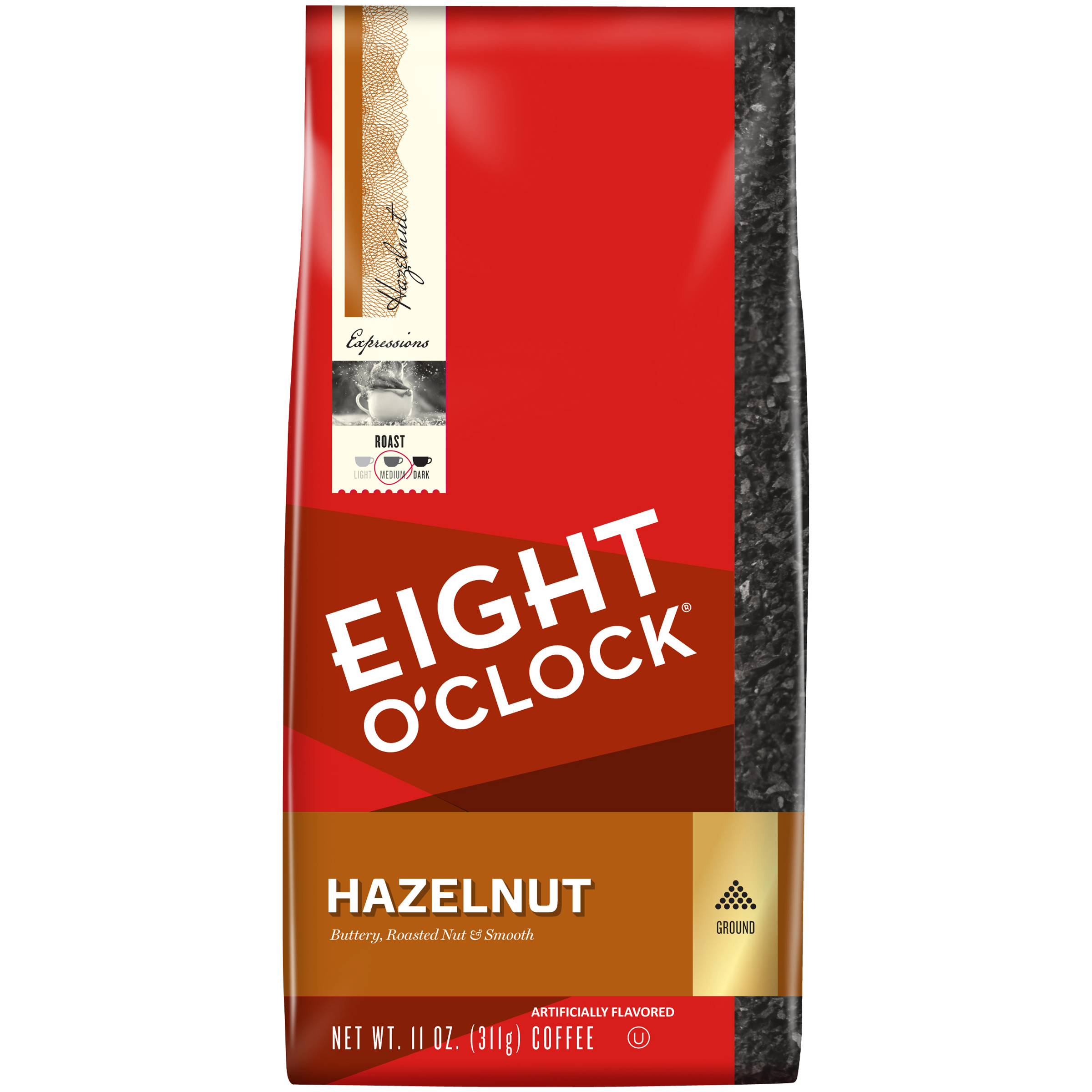 Eight O'Clock® Hazelnut Ground Coffee 11 oz. Bag
