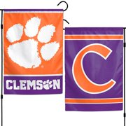 "Clemson Tigers WinCraft 12"" x 18"" Double-Sided Garden Flag"