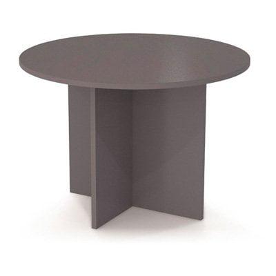Bestar 42 in. Round Meeting Table Slate by Bestar