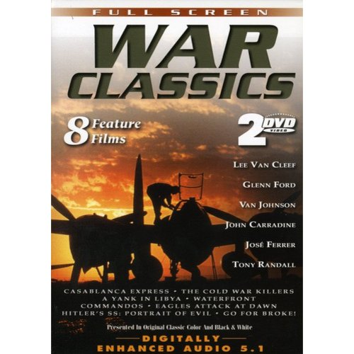WAR CLASSICS - VOL. 1: 8 FEATURE FILMS
