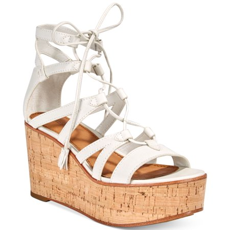 a8131c4b5d8 Frye Women's Heather Gladiator Wedge Sandals - Walmart.com