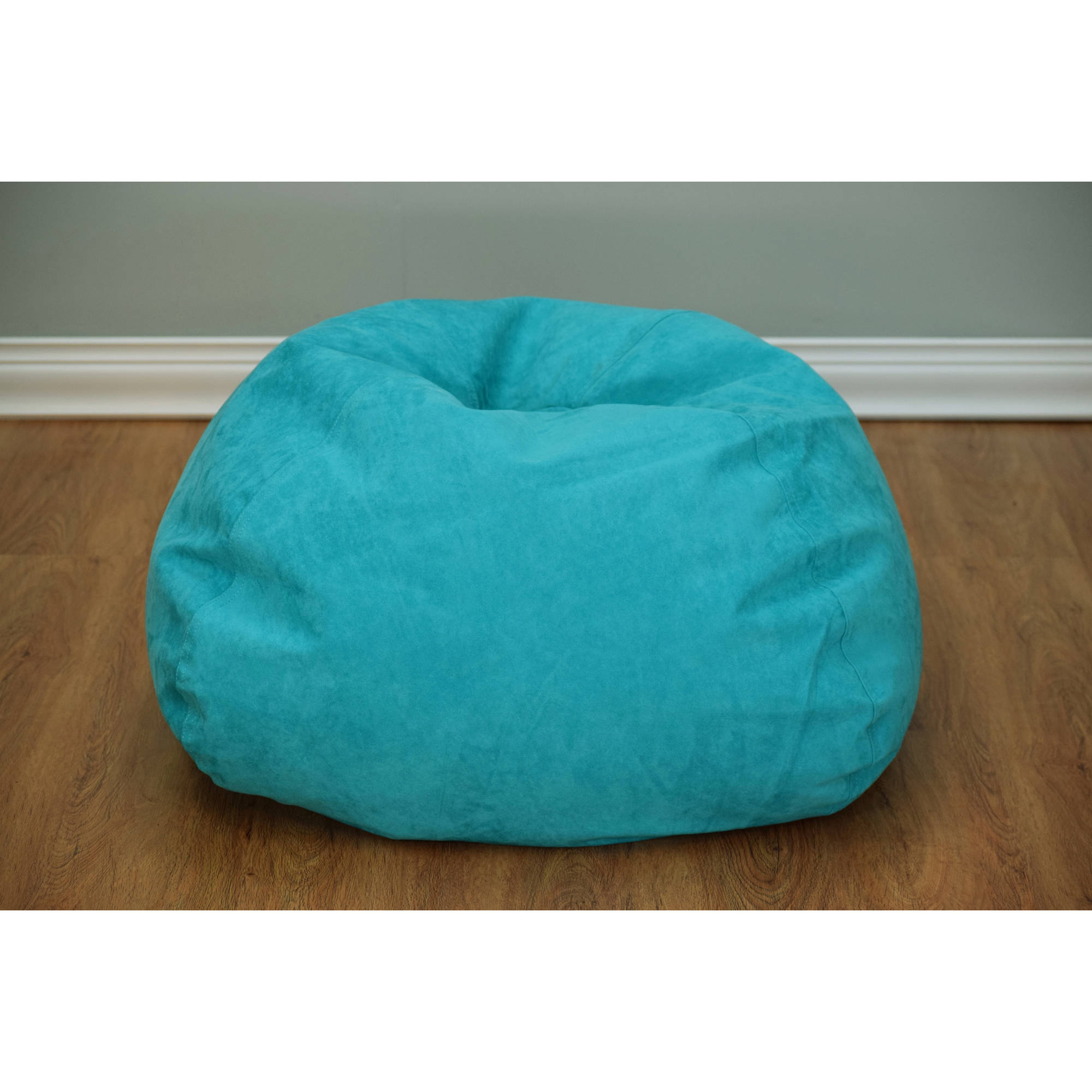 Microsuede Bean Bag Available in Multiple Colors Walmart
