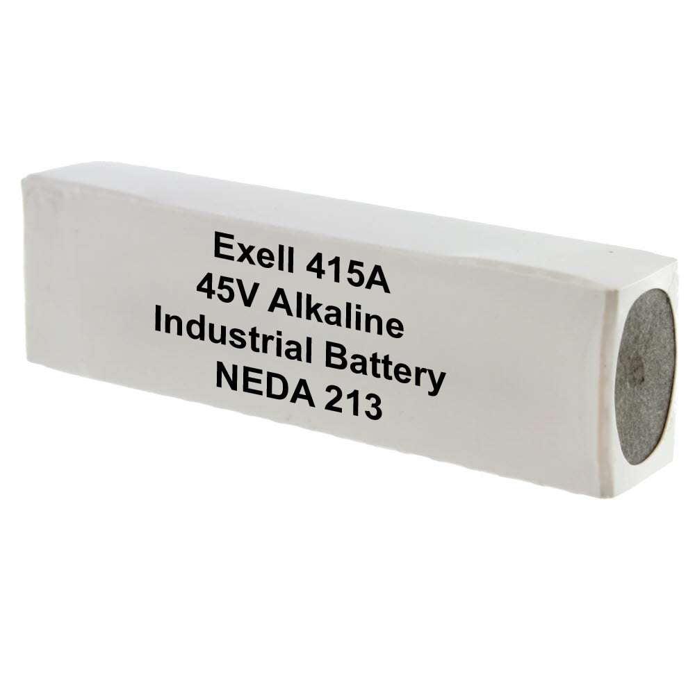 Gillette 415A Alkaline 45V Battery Neda 213, 30F20, BLR10...