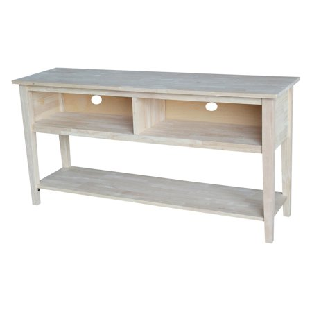 International Concepts Entertainment Tv Stand For Tvs Up To 66