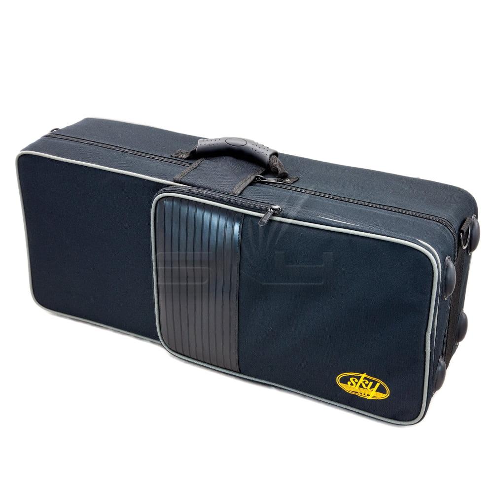 SKY Lightweight Case for Alto Saxophone, Backpackable.IMPROVED ZIPPER(YKK)