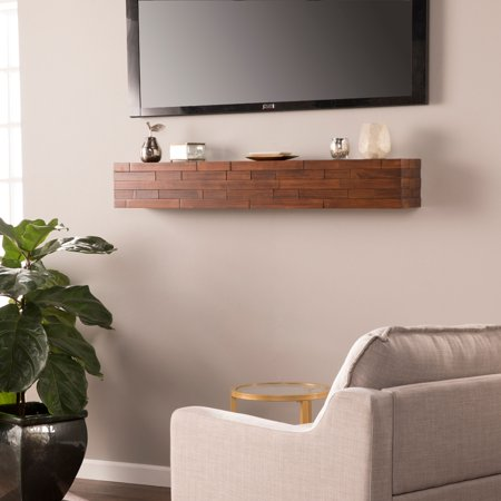 Southern Enterprises Attiveo Floating Wall Mantel Shelf
