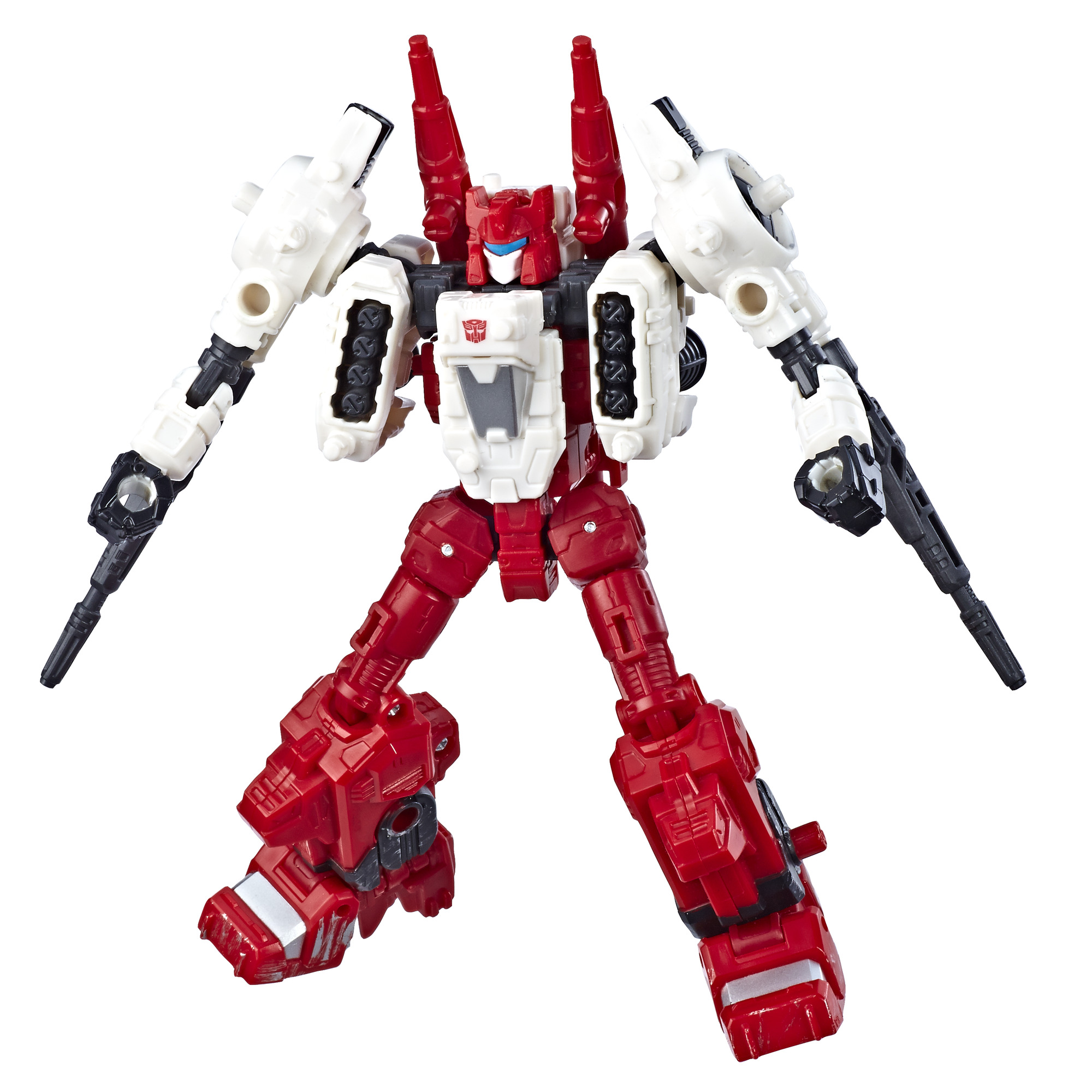 Transformers Toys Generations War for Cybertron Deluxe Wfc-S22 Autobot Six-Gun Weaponizer Action Figure