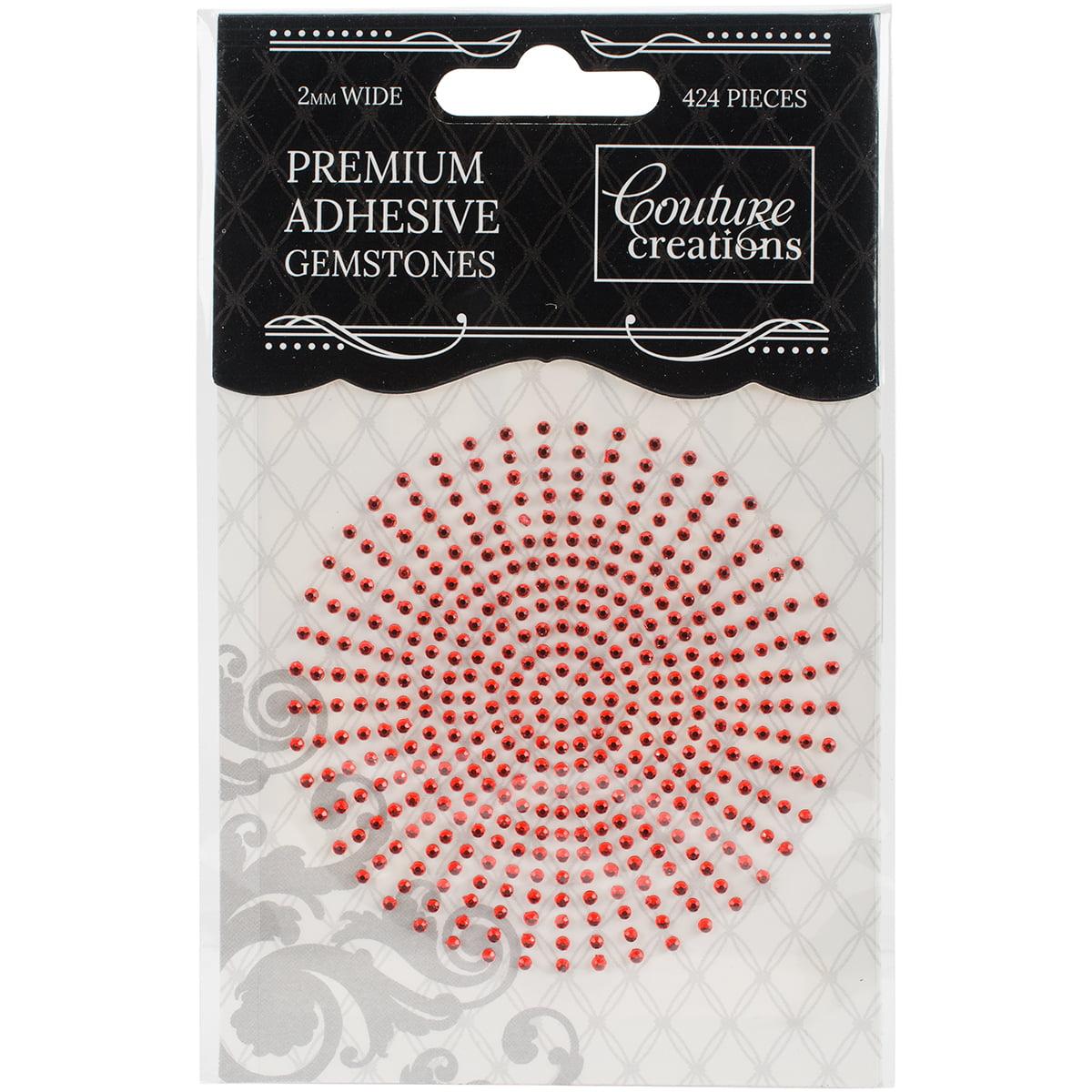 Couture Creations Self-Adhesive Gemstones 2mm 424/Pkg-Bubblegum