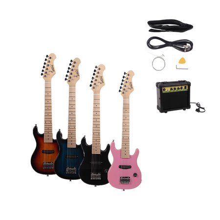 glarry 30in 6 string electric guitar w amp strap bag strings plectrum power wire wrench tool. Black Bedroom Furniture Sets. Home Design Ideas