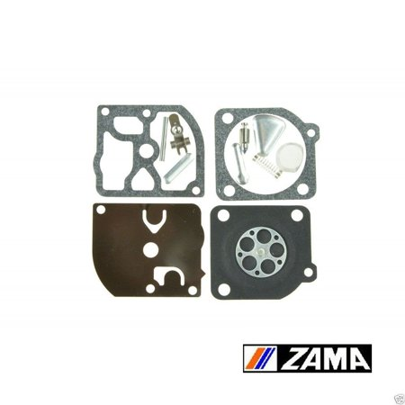 Carburetor Rebuild Overhaul Kit For RB-72. Complete Kit Includes gaskets, diaphragm, welch plug, needle, and inlet lever. By Zama