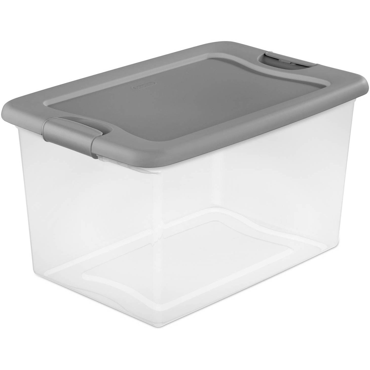 gallon com shop tub commander target containers plastics lowes pl tubs with storage lid llc snap centrex tote organization black standard at baskets
