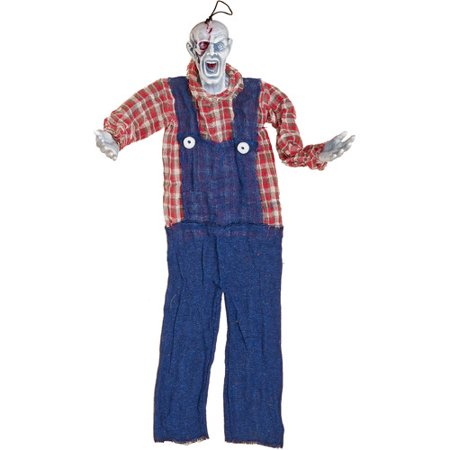 Worth Imports Hanging Halloween - Farmer Halloween