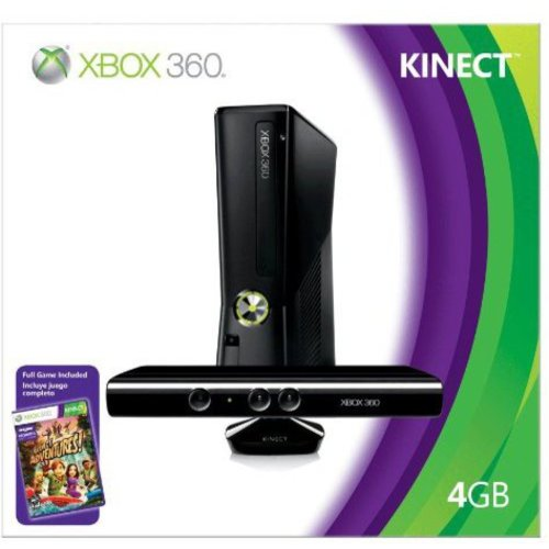 Xbox 360 4GB Console w/ Kinect