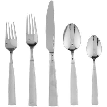 Stainless Steel Satin Astragal (Towle Living Satin Balance 20-Piece 18/0 Stainless Steel Flatware)