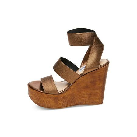 6d7967b90dd Steve Madden Womens Blondy Fabric Open Toe Casual Platform - image 2 of 2  ...