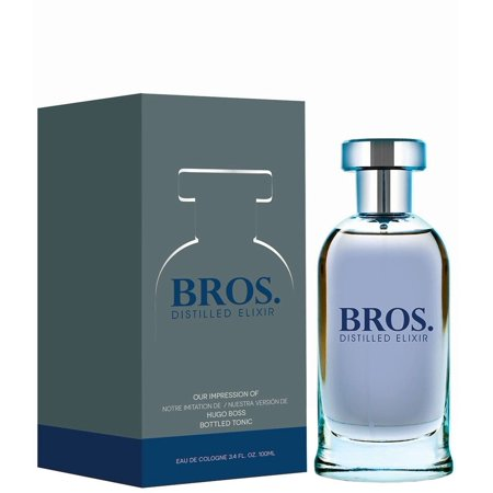 Bros Distilled By Preferred Fragrances inspired by BOTTLED TONIC MEN This fragrance is crafted by master perfumers using only high quality essential oils normally found in the most expensive designer perfumes and colognes. This is the reason for its long lasting scent. Enjoy a high quality, luxury experience at about a third of the price of a traditional designer Fragrance. This perfume is recognized as being the best alternative to the original