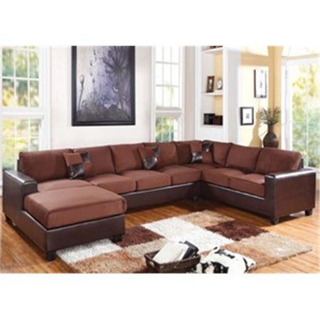 Acme Furniture 56000 Living Room Reversible Sectional Sofa