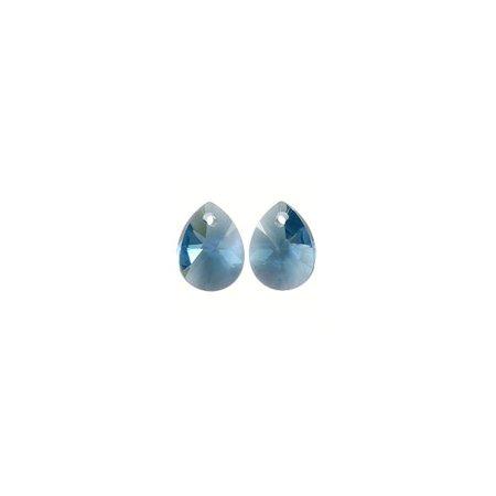 Swarovski Mini Pear Pendant 6128 10mm Denim Blue (Package of 3)